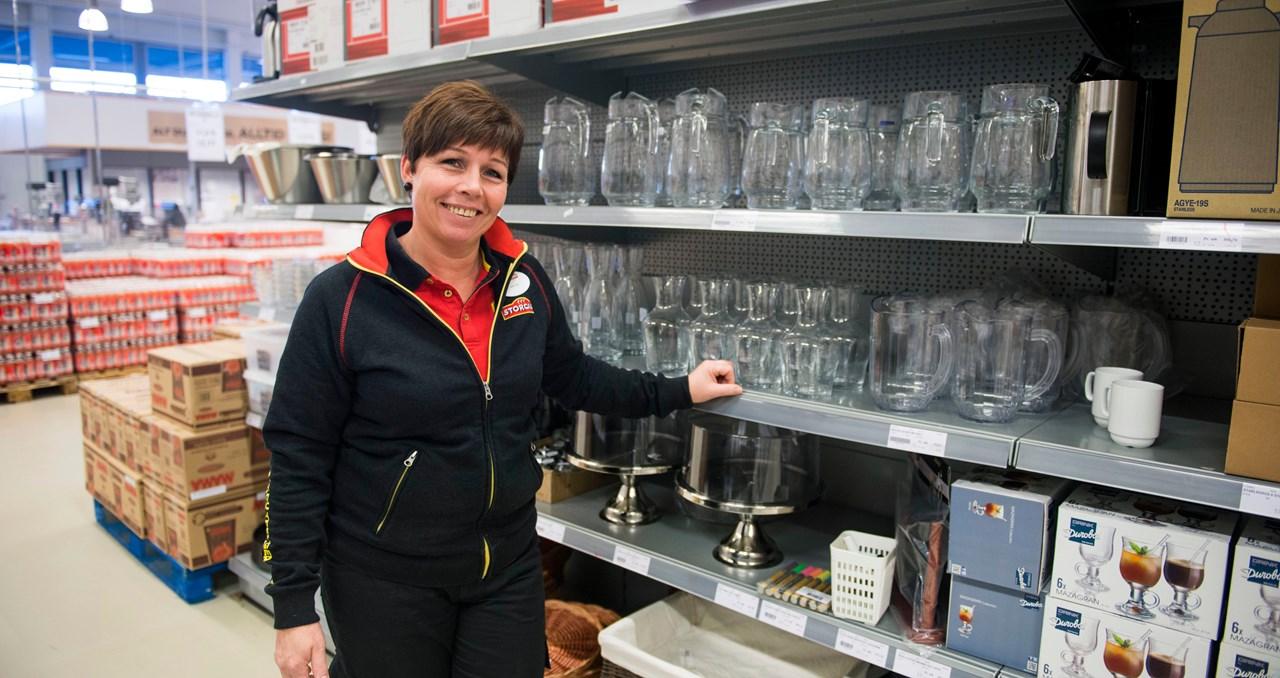 I 15 år har Kjørbekk Storcash også samarbeidet med Culina, som har sitt Skien-kontor i andreetasjen over varehuset