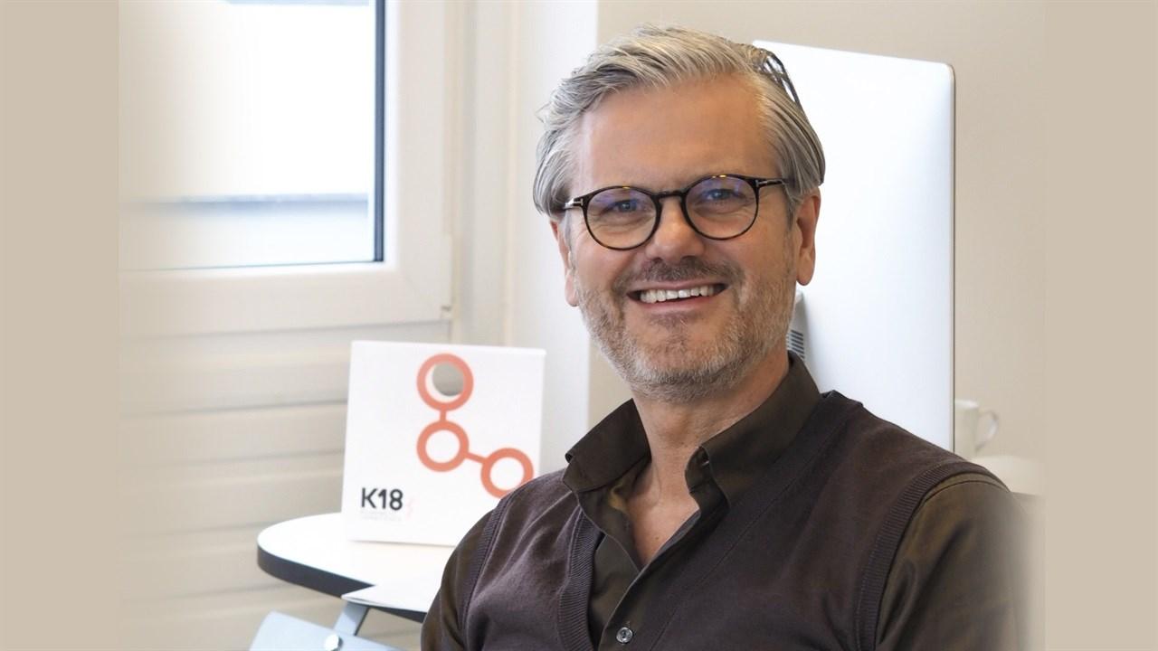 En liten revolusjon:  - Vi inviterer alle i bransjen til å oppleve effekten av K18, både som en salongbehandling og et videresalgsprodukt, sier adm. direktør Svein Ove Olsen i Verdant AS.