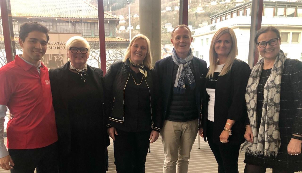NFVB Prosjekt Integrering starter i Bedrift deltok på Internasjonalt Karrieretorg 2019 i Bergen.