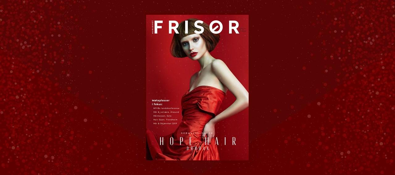 Magasinet FRISØR utgave 6-2018.