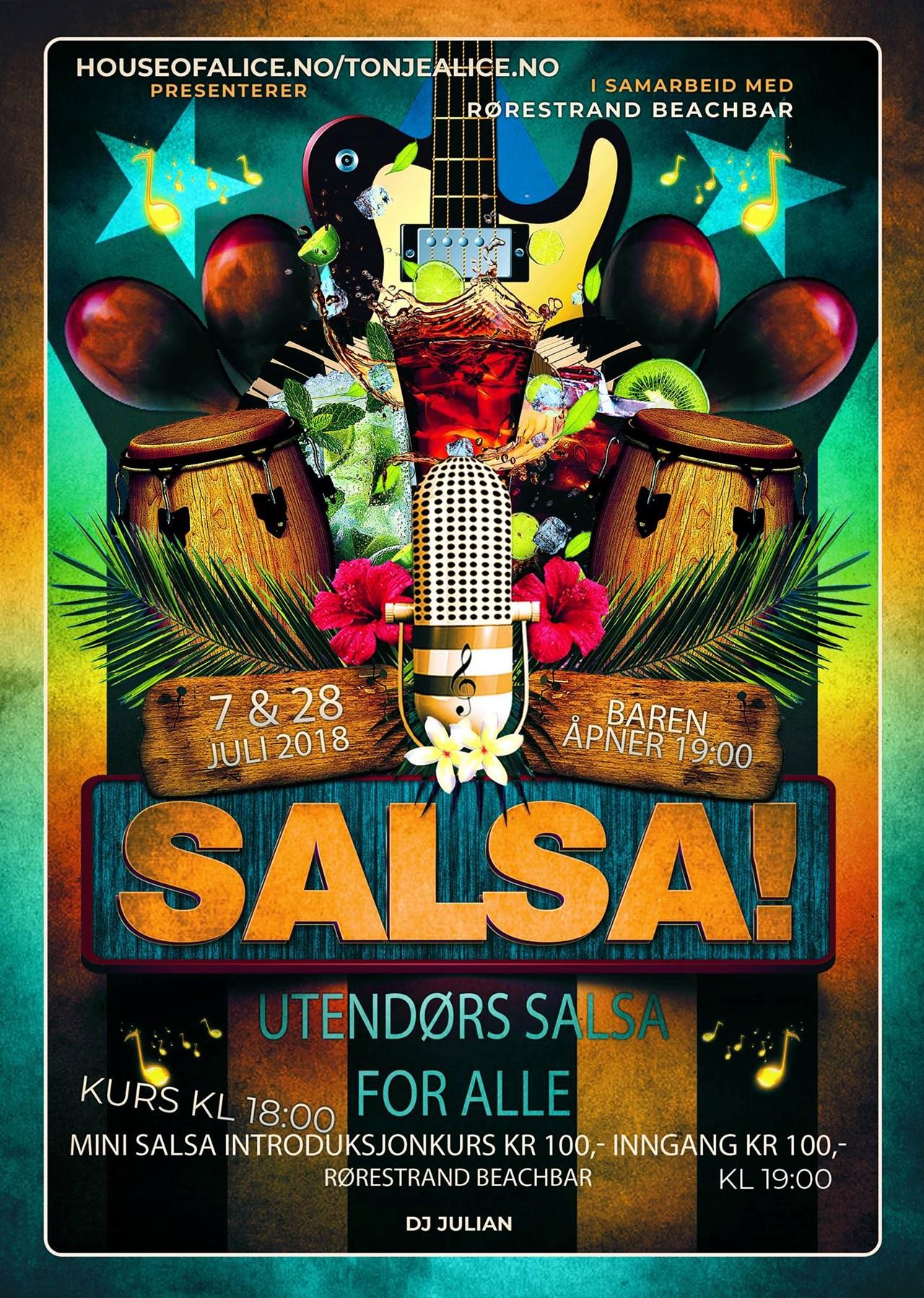 Salsafest på Paviljongen i Horten