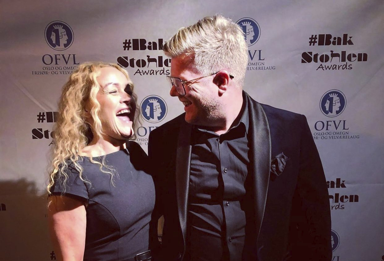 Renate Forseth og Peter Vonkunz Brun står bak BakStolen Awards og kan smile bredt etter en vellykket prisfest